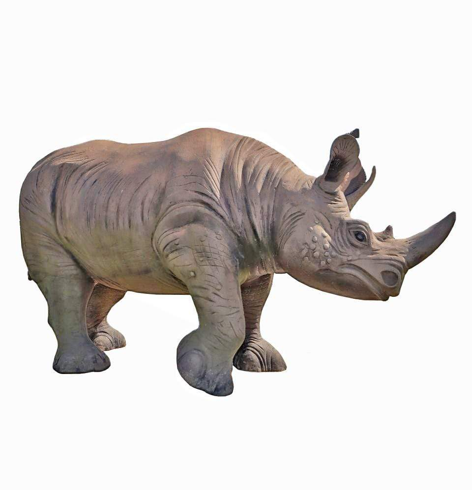 Rhinoceros Sculpture - Champion Landscape Supplies - Scuptures