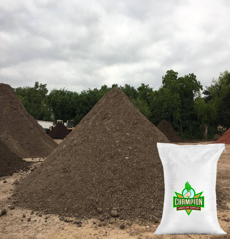Supercompost Soil Bag - Champion Landscape Supplies - BAGGED MATERIAL