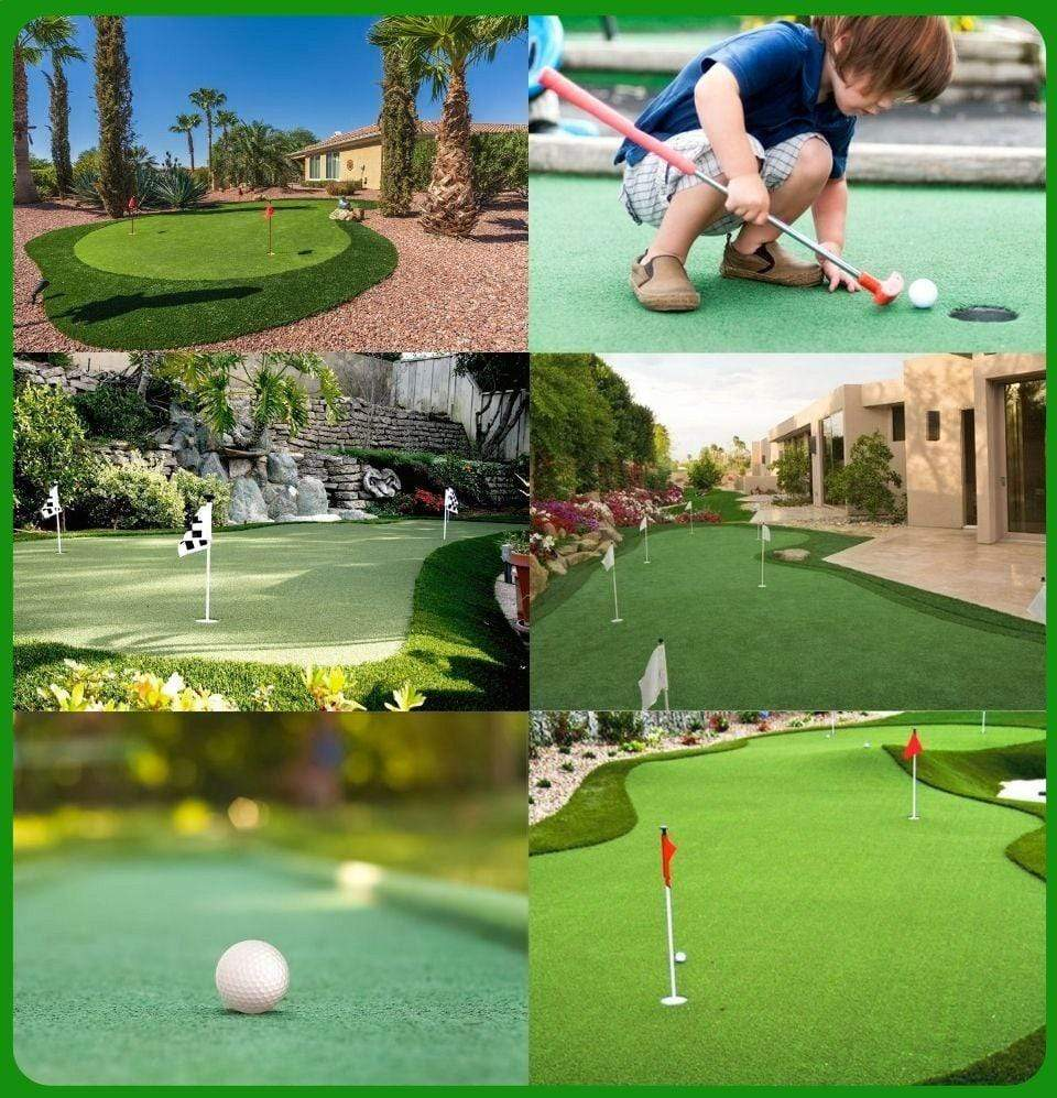The Lazy  Day Putting Green 500 Sq. Ft. - Champion Landscape Supplies - SYNTHETIC TURF