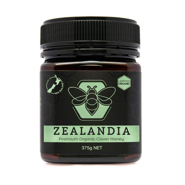 Organic New Zealand Clover honey