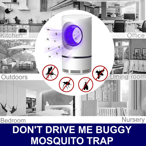 Don't Drive Me Buggy - Mosquito Lamp