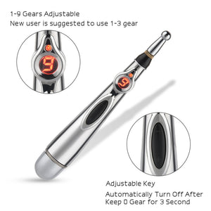 Energy Acupressure Pen - Contact Gel Optional