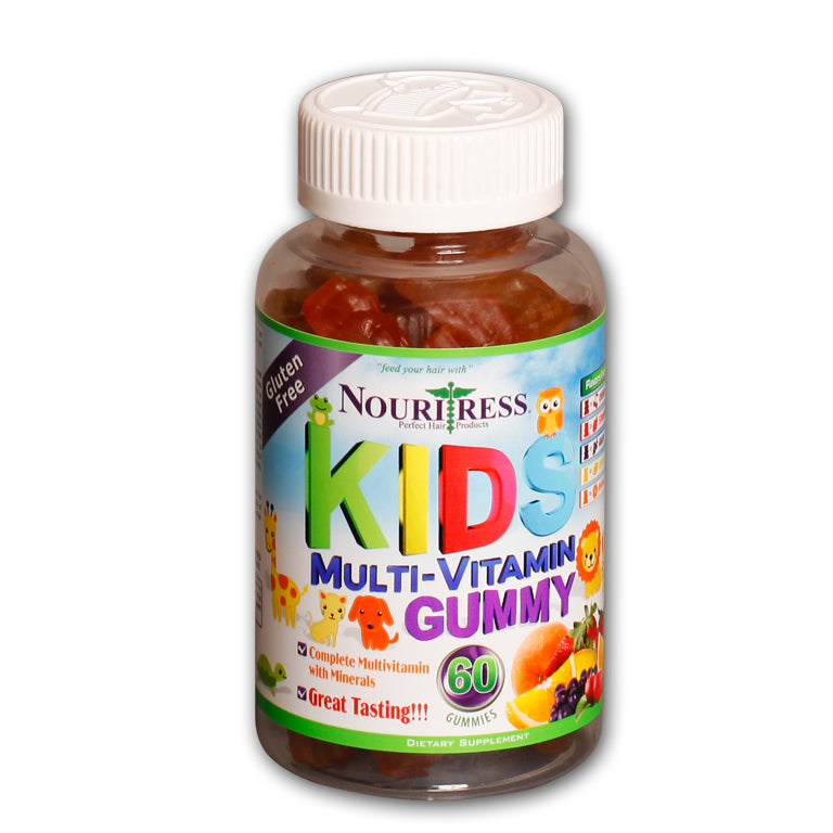 NouriTress Kid's Multi-Vitamin Gummy (ages 2-6)
