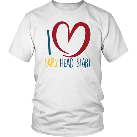 I Love Early Head Start Tees