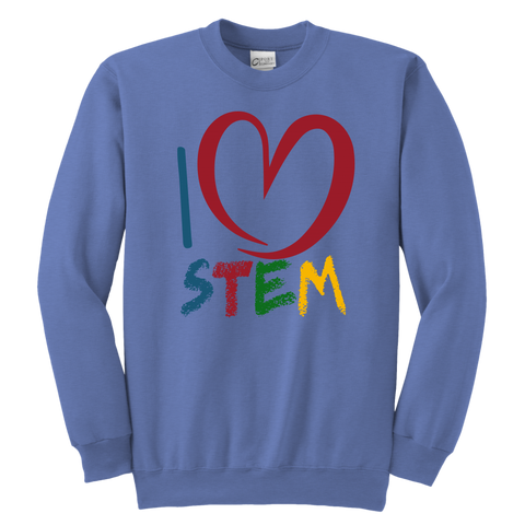 STEM Crewneck Youth Sweatshirt