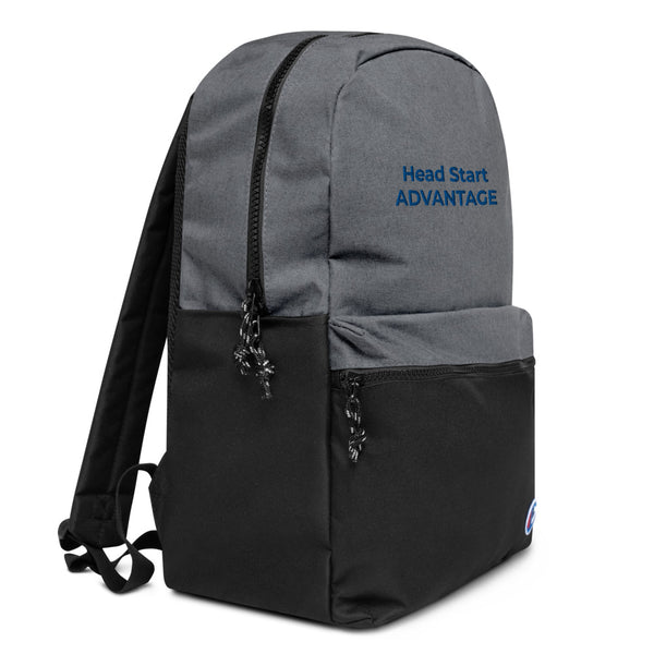 Head Start Embroidered Champion Backpack (Blue)
