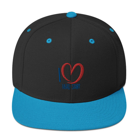 I Love Head Start Snapback Hat