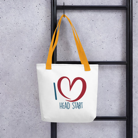 I Love Head Start Tote bag