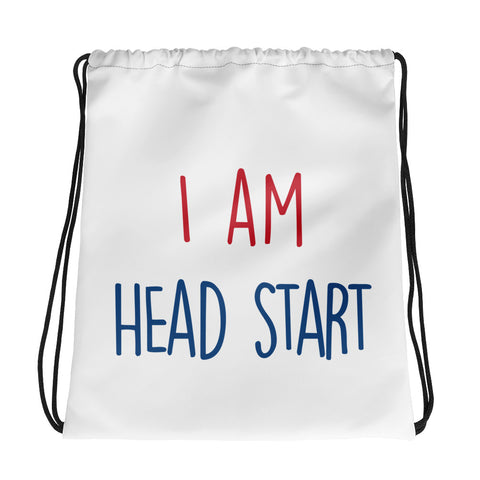 Head Start Drawstring bag