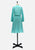 Seafoam 'Glamis' Long Sleeve Dress