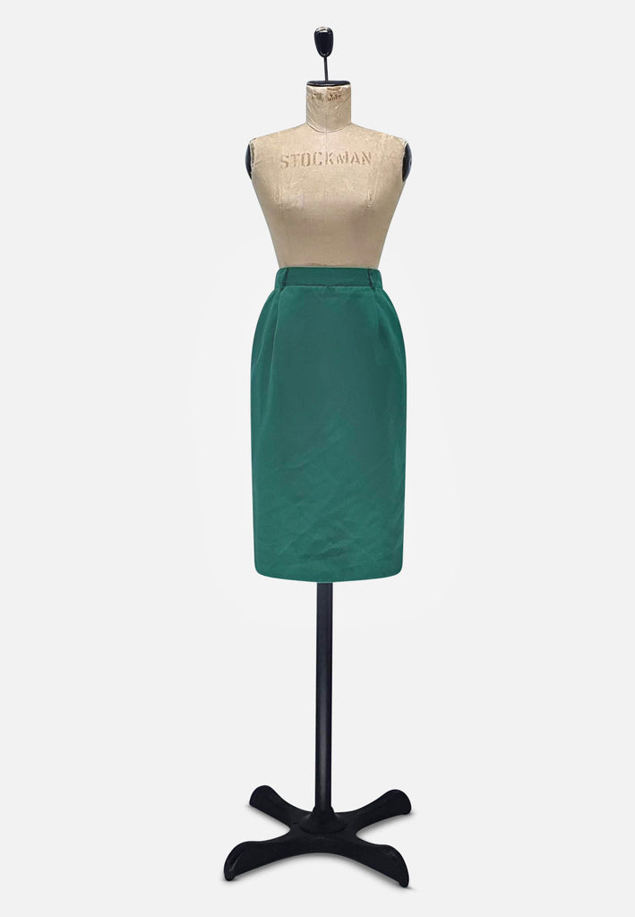 Green Pencil Skirt RETRO