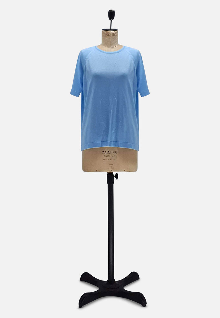 Blue Fine Knit top