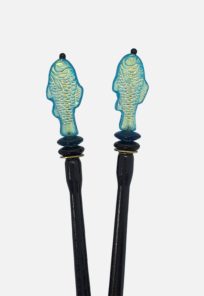 'Bass' Hairsticks (pair)