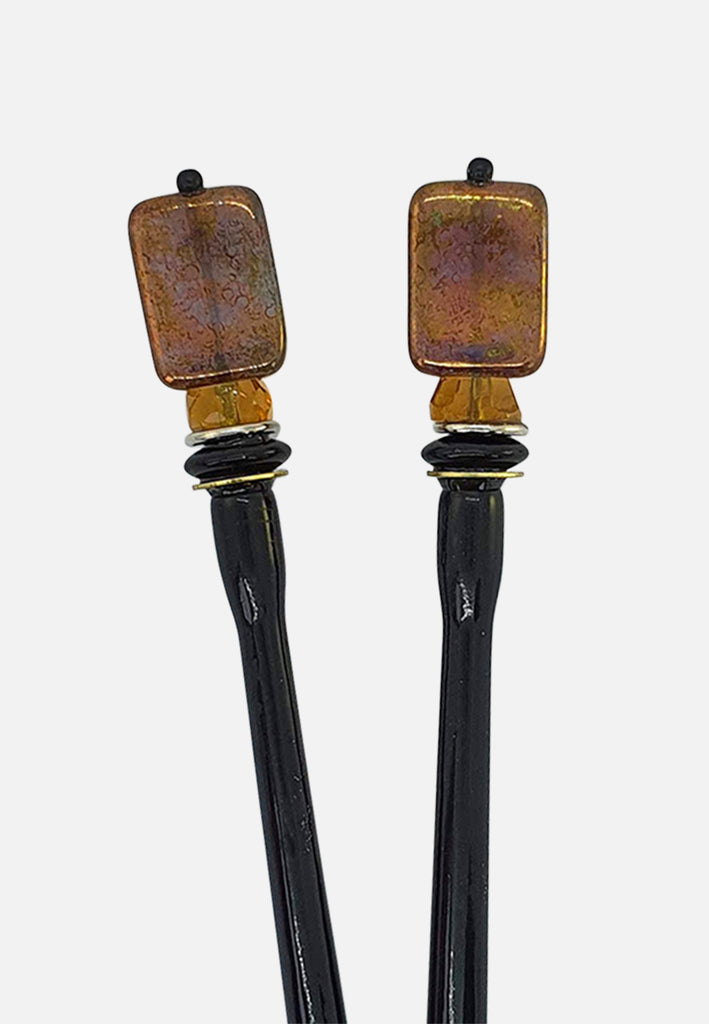 'Defend' Hairsticks (pair)