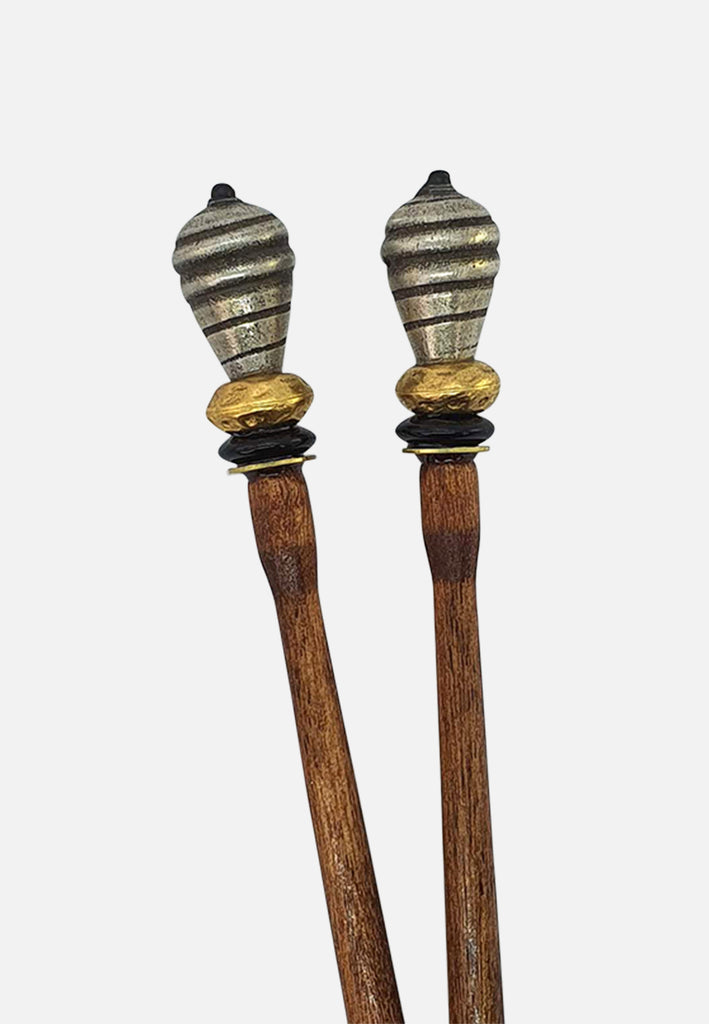 'Swirl' Hairsticks (pair)