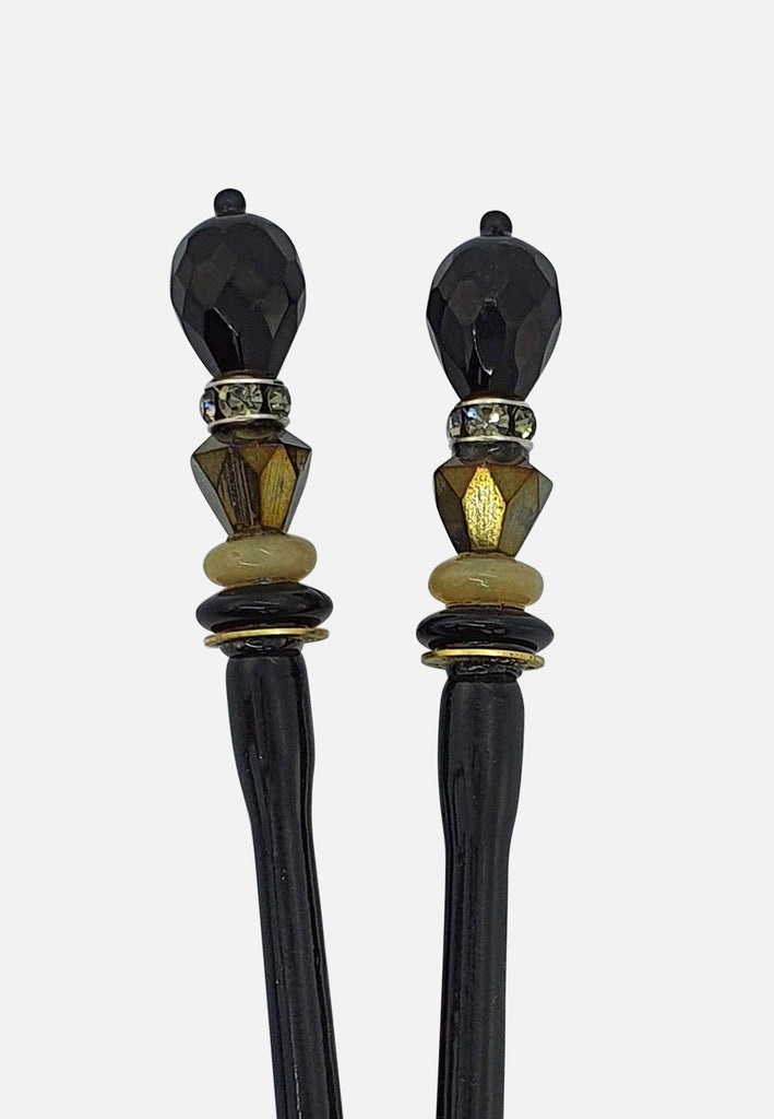 'Wit' Hairsticks (pair)