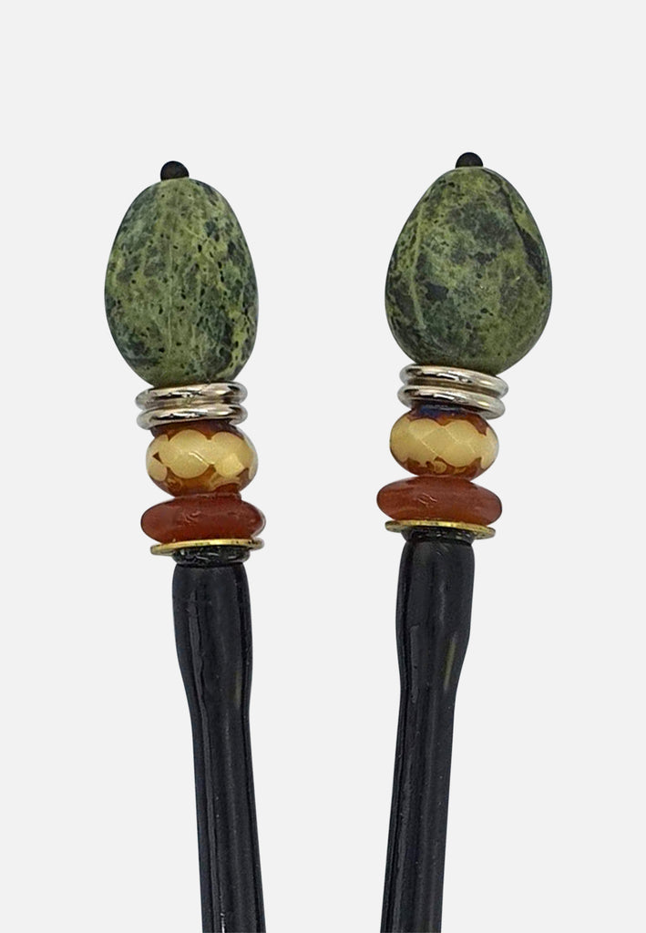 'Dakota II' Hairsticks (pair)