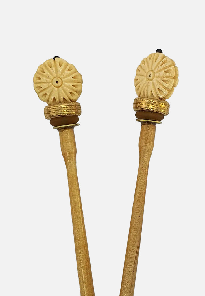 'Daisy' Hairsticks (pair)