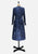 Navy Detailed Divine Dress
