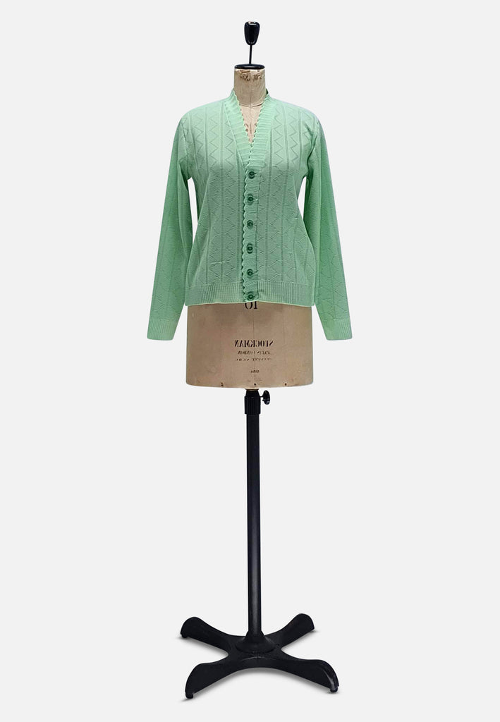 Green Buttoned Knit (Rescue)