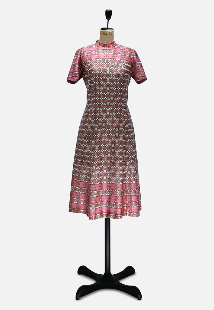 Pink Paisley Perfect Dress