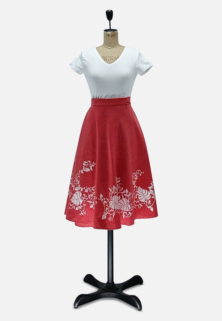 Red Hawaii Skirt