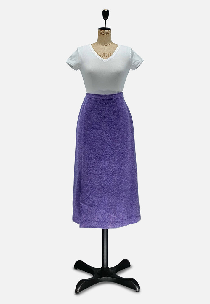Purple Flecked Skirt