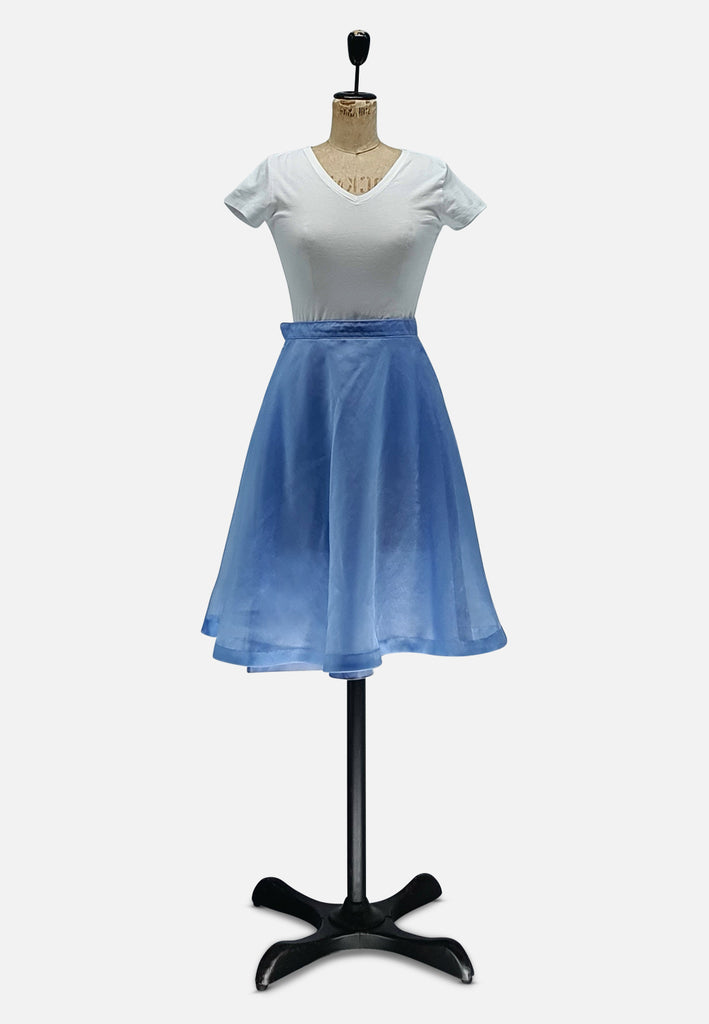 Frothy Blue Skirt