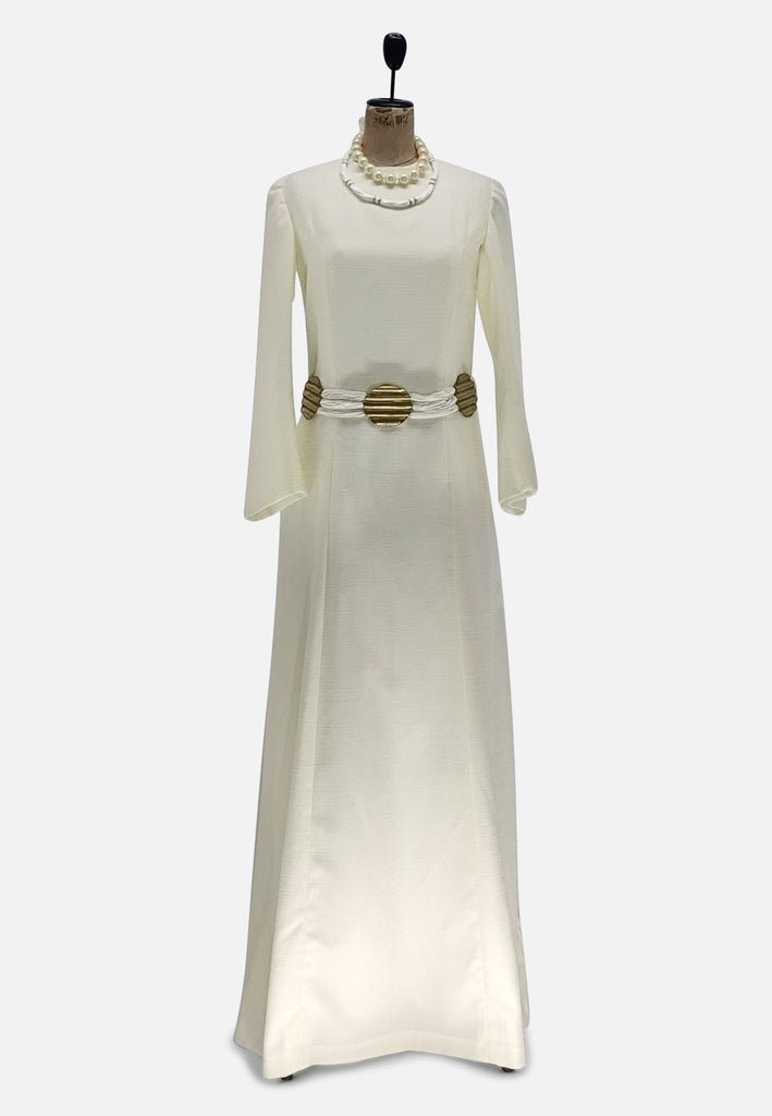 Creamy Maxi Goodness Dress