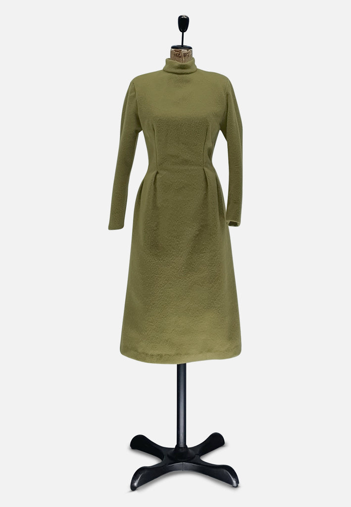 Pea Green Wool