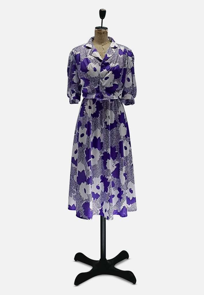 French Floral Dress