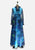 Blue Illusion Maxi Dress