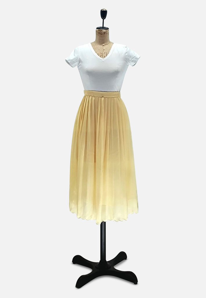 Buttercup Pleated Skirt