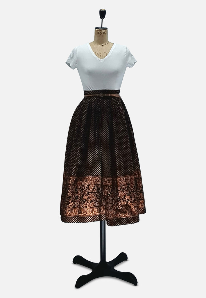 Copper Coffee Skirt