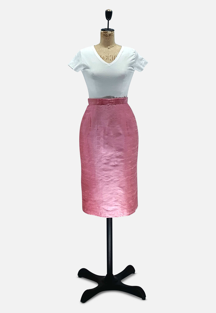 Baby Pink Pencil Skirt RETRO