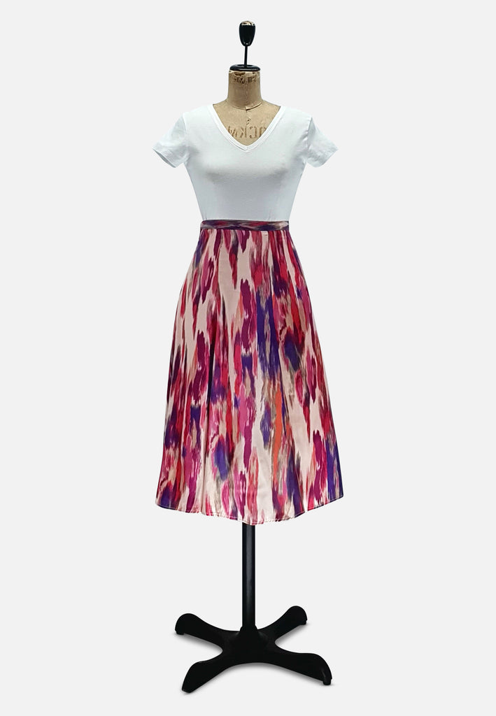 Watercolor Skirt RETRO