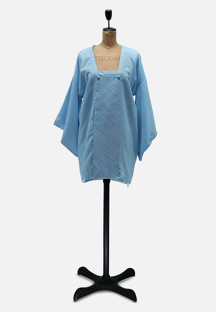 Blue like the Sky Japanese Silk Kimono