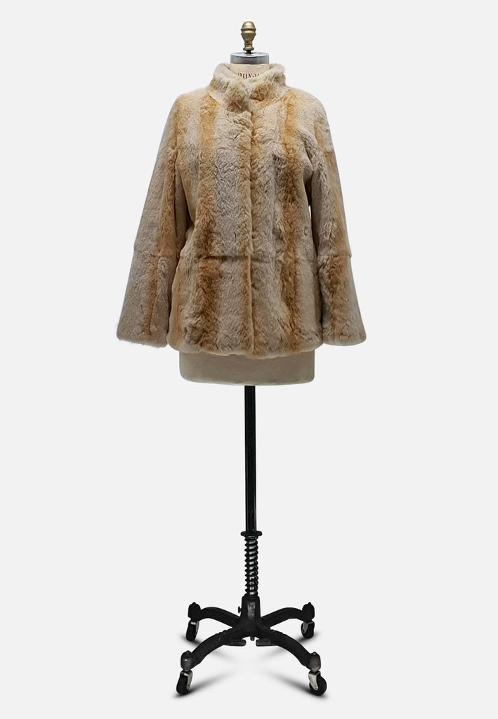 Hey Blondie Fur Coat