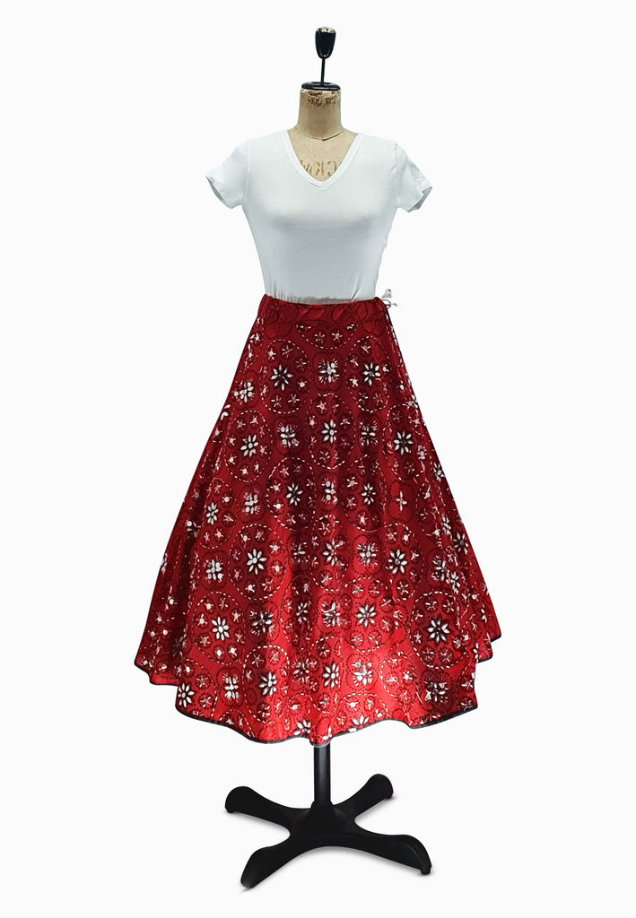 Red Sparkle and Shine Skirt