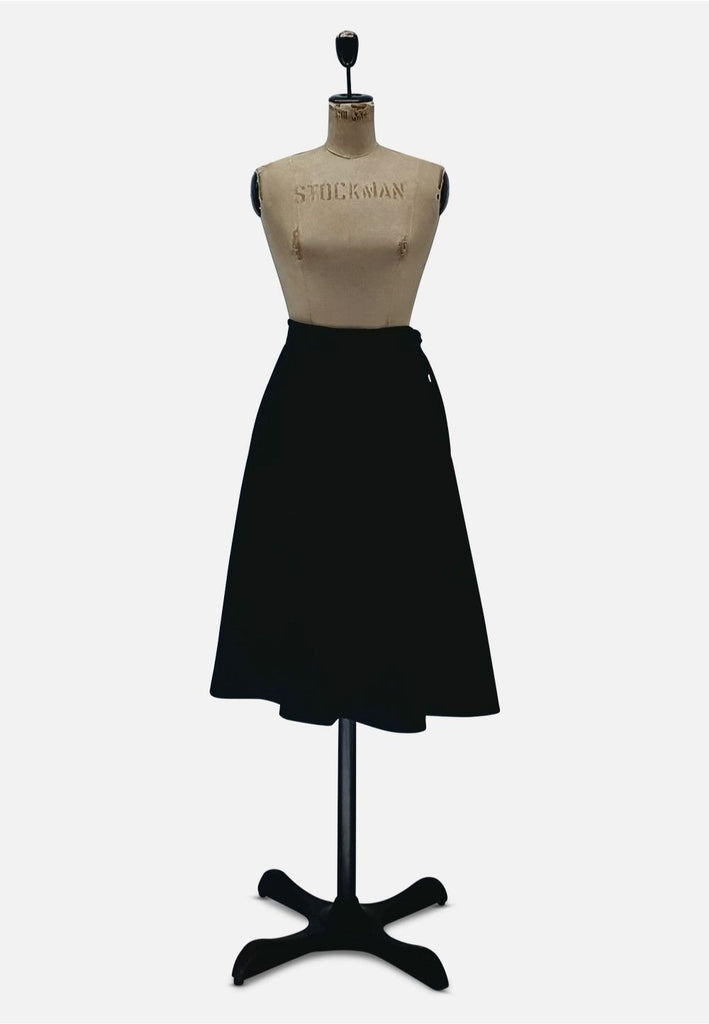 Black Aline Skirt