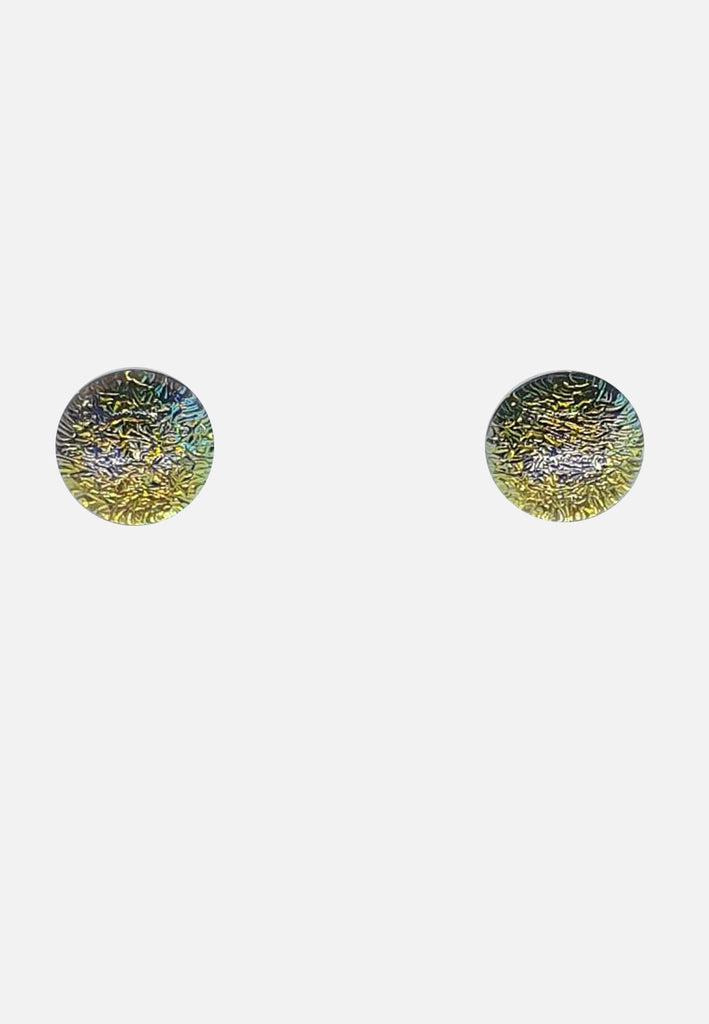 Handblown Glass Stud Earrings
