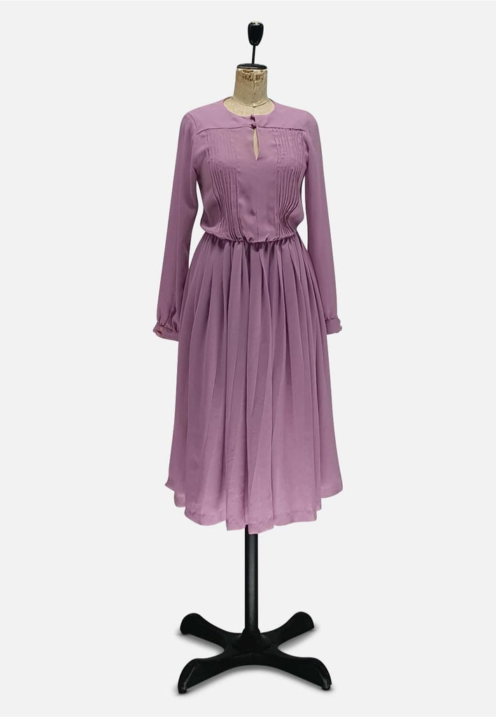 Mauve Chic Dress