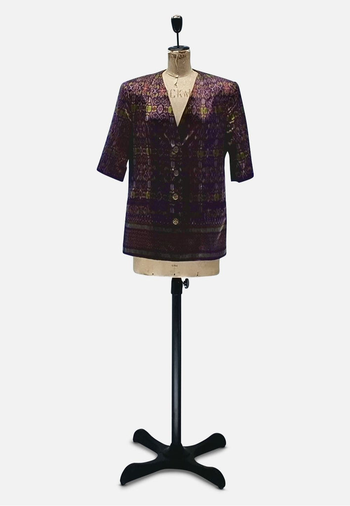 Luxe Purple Designer Jacket