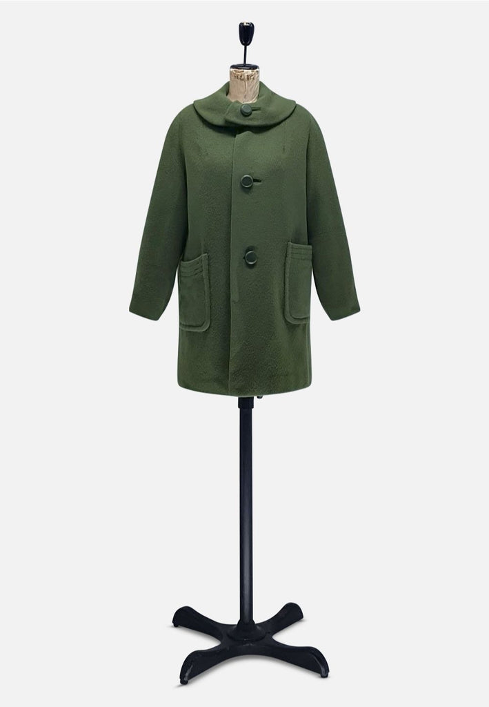 Pea Green with Envy Coat