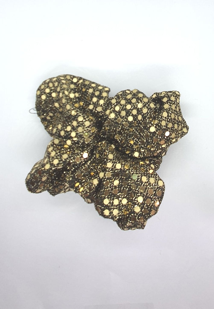 Keep your mane outta the rain Vintage Scrunchie - Sequin