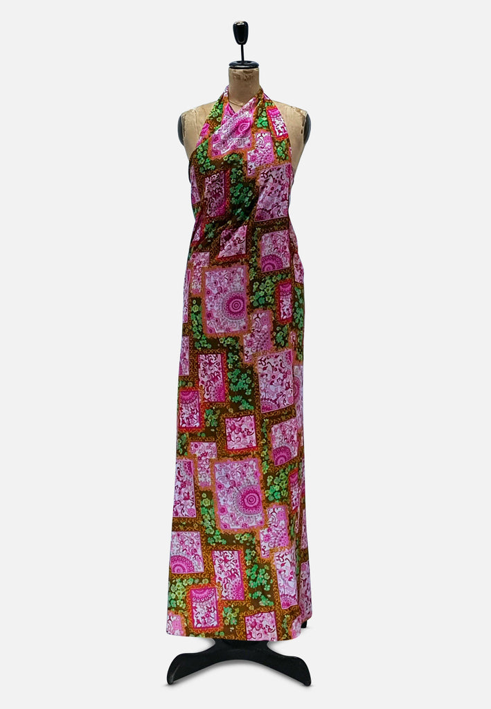 Wrap Me in Flowers Dress RETRO