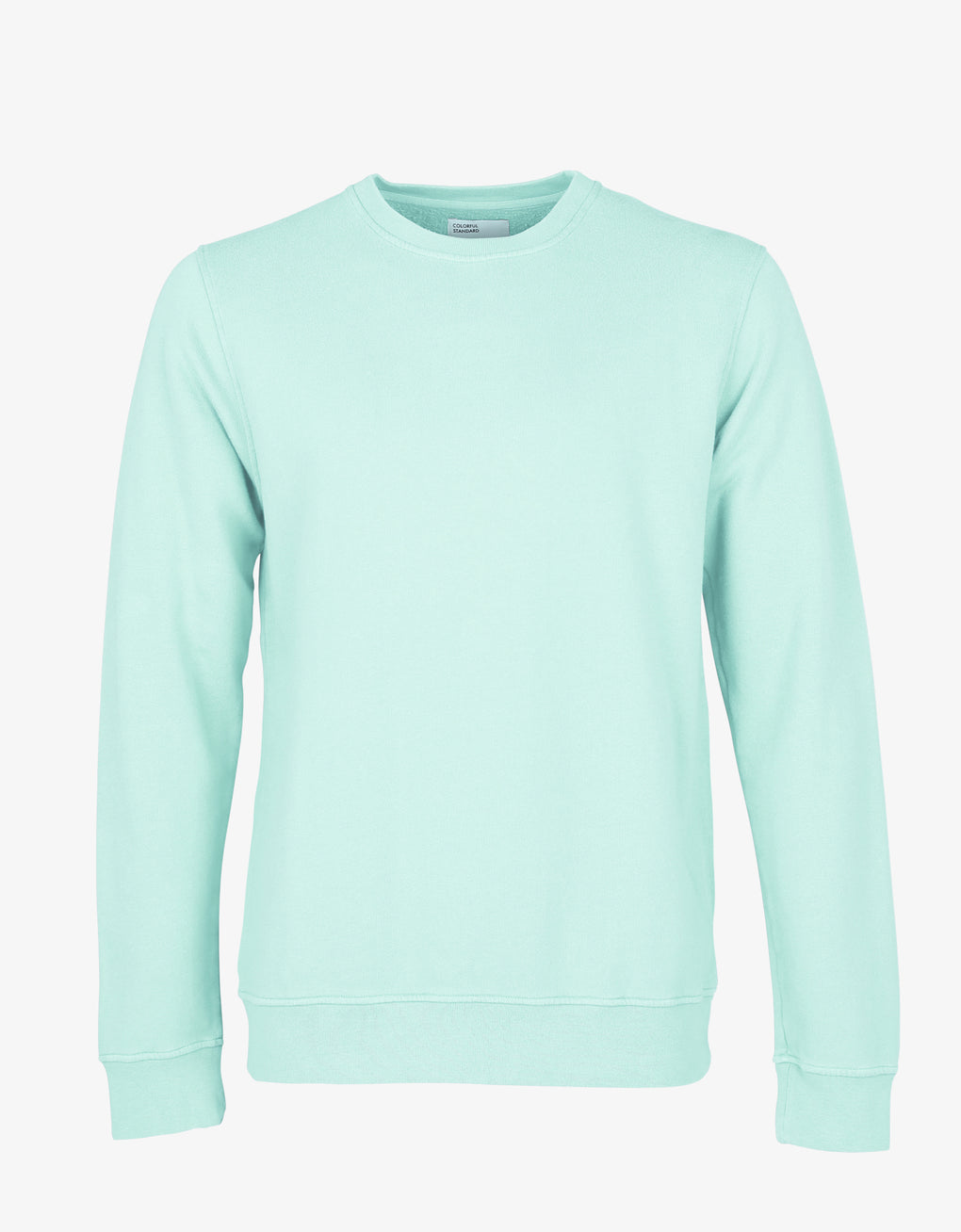 Colorful Standard Classic Organic Crew Crewneck Light Aqua