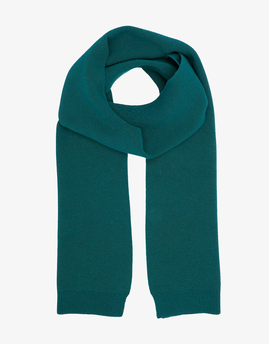Colorful Standard Merino Wool Scarf Scarf Ocean Green