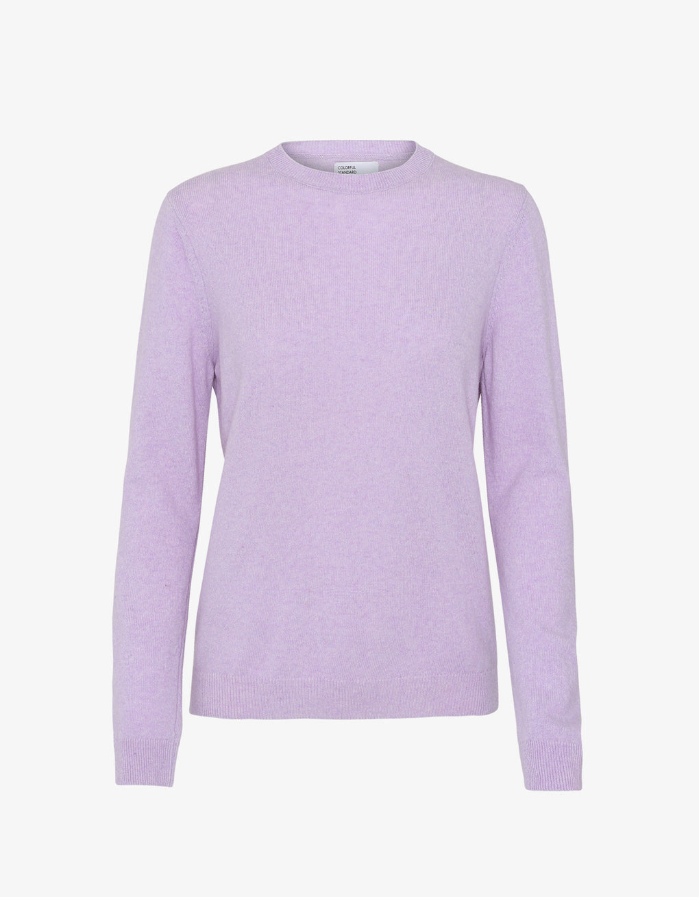 Colorful Standard Women Light Merino Wool Crew Women Merino Crewneck Soft Lavender