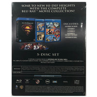 The Superman 5 Film Collection (1978-2006) Blu-Ray Box Set